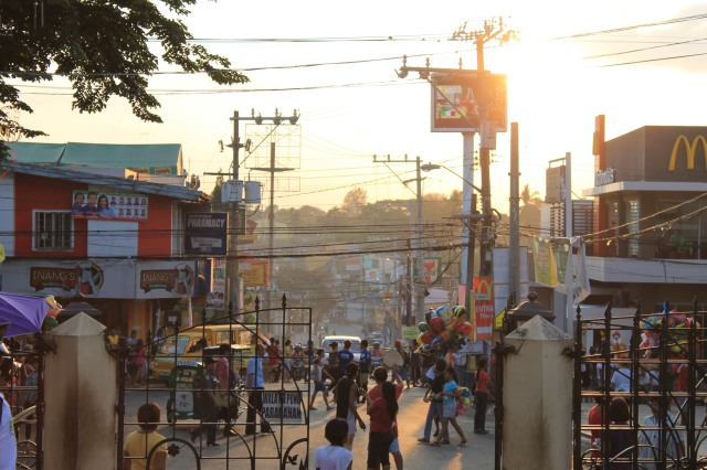 Busy street of Antipolo