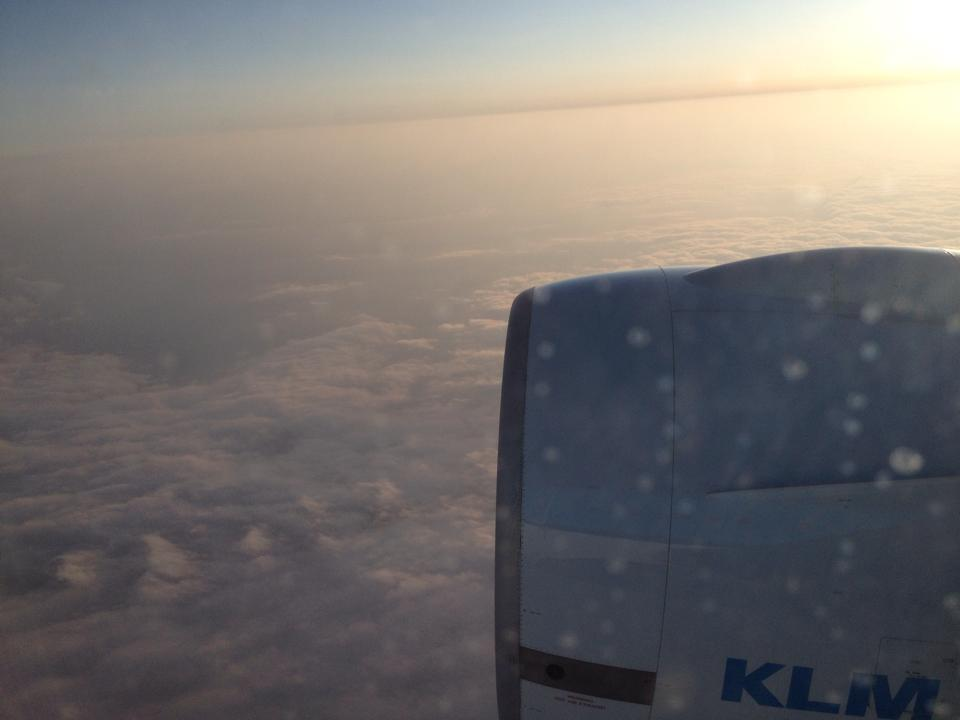 Flying high with KLM