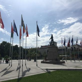 Place Rapp und Monument General Rapp